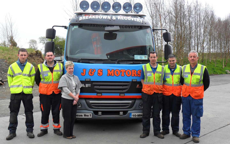 New J&S Motors Website 24 Hour Vehicle Recovery Navan