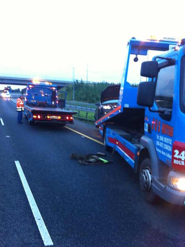 Motorway Breakdown Recovery M3 J&S Motors Navan