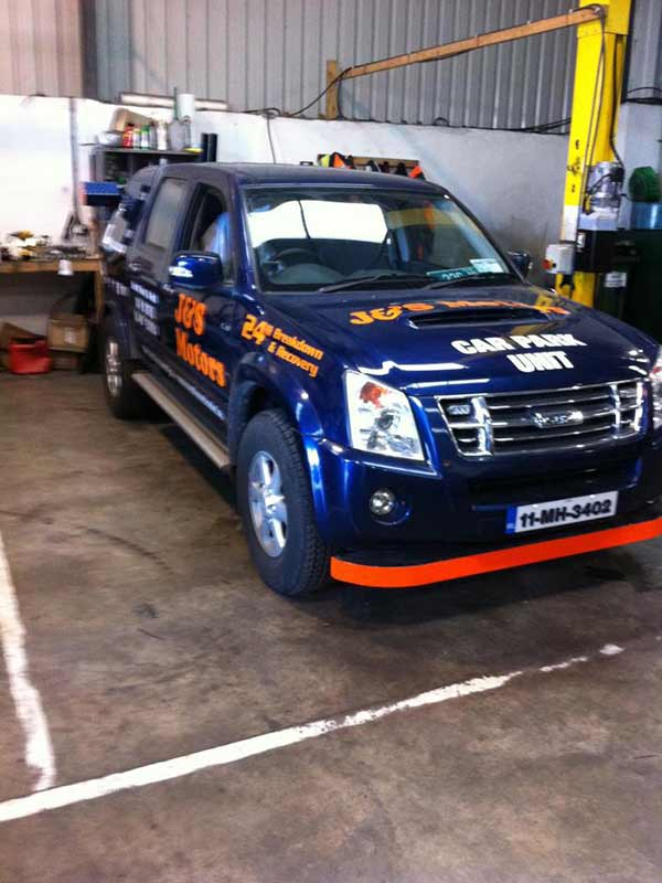 4x4 Cark Park Unit Vehicle Breakdown Recovery J&S Motors Navan