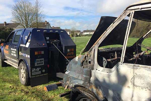 4x4 Cark Park Unit Vehicle Breakdown Recovery J&S Motors Navan