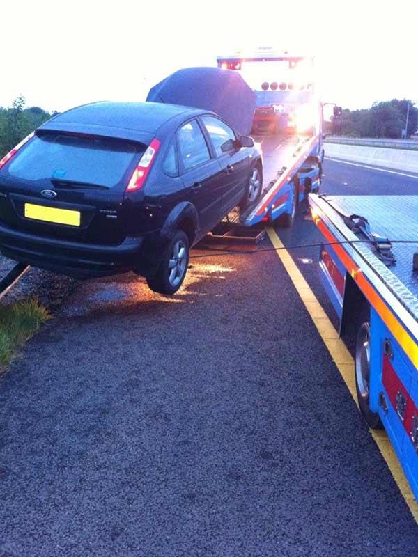 Car Breakdown Recovery Ford Focus Motorway M3 J&S Motors