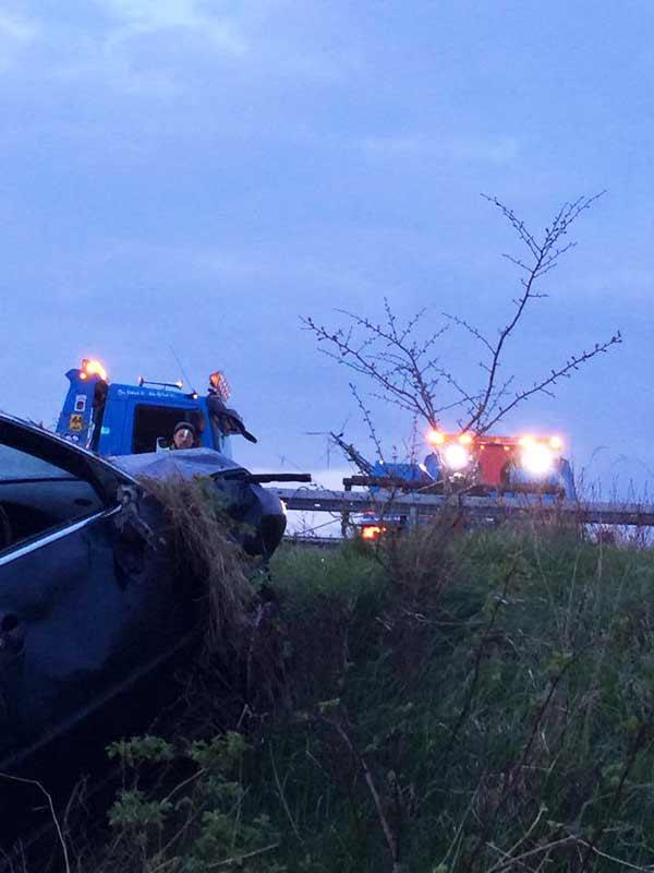 VW Passat Car Accident Recovery J&S Motors Navan