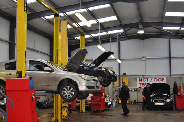 NCT Pre Test Lane J&S Motor Repairs Service